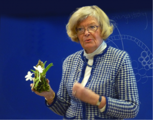 Marita visar en Amesiella monticola.