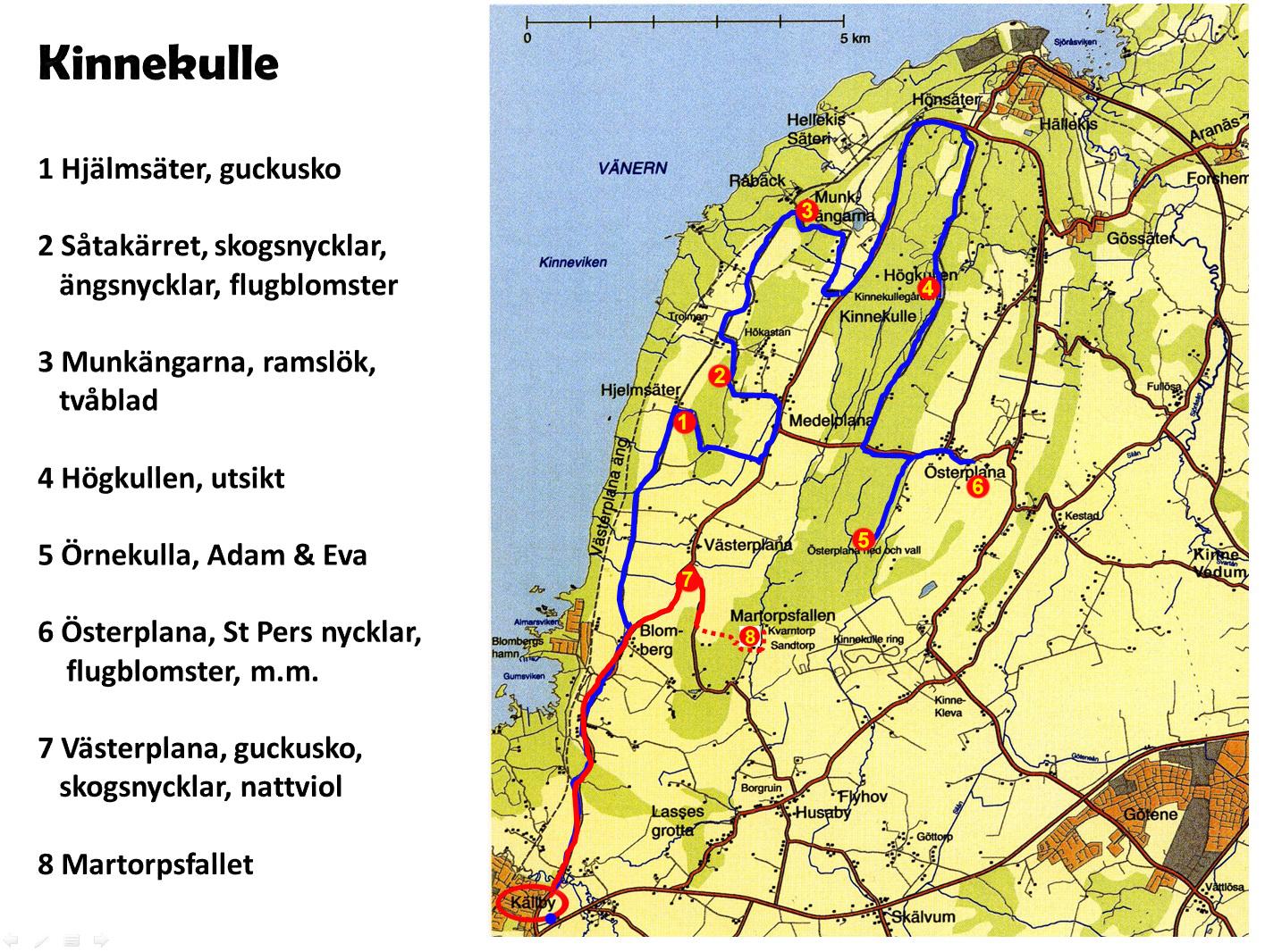 munkängarna karta VSOS vårexkursion « Västsvenska Orkidésällskapet munkängarna karta